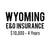 Wyoming E&O Insurance ($10,000, 4 years)