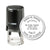 Round Self-Inking Florida Notary Stamp