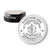 Round Slim Massachusetts Notary Stamp