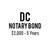 DC Notary Bond ($2,000, 5 years)