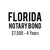 Florida Notary Bond ($7,500, 4 years)