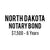 North Dakota Notary Bond ($7,500, 6 years)
