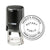 Round Self-Inking North Carolina Notary Stamp