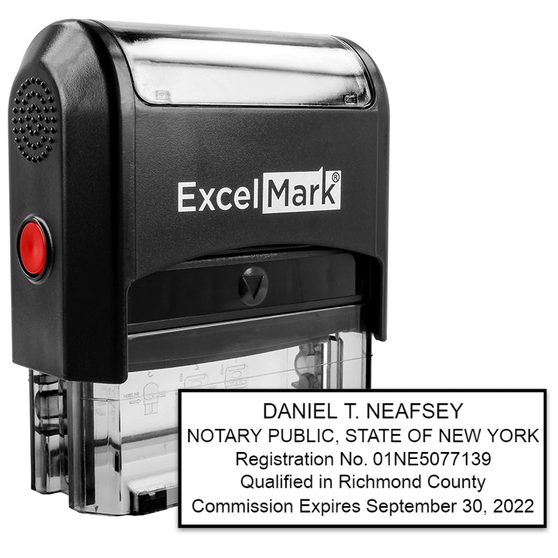 Self Inking State Of New York Notary Stamp