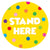 Stand Here Classroom Floor Decal