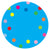 Dots Classroom Floor Decal