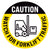 Caution Watch For Forklift Traffic Floor Decal