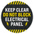 Keep Clear Do Not Block Electrical Panel Floor Decal