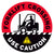 Forklift Crossing Use Caution Floor Decal