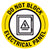 Do Not Block Electrical Panel Floor Decal