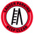 Red Ladder Parking Keep Clear Floor Decal