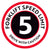 Forklift Speed Limit Floor Decal