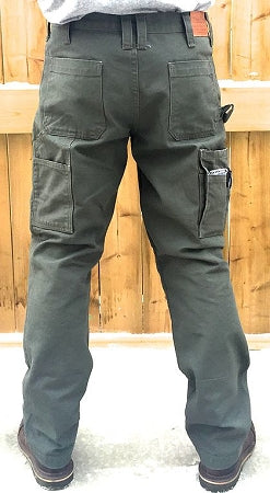 "KNEEGARD ""MAX CARGO"" Work Pants  Military Green (FREE KNEE PADS, EASY RETURN) Limited Product"