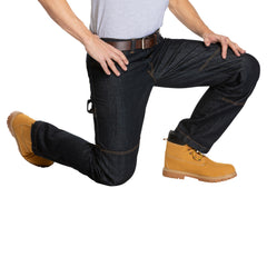 Denim Work Pants with built in Knee Pads