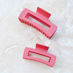 Open image in slideshow, Small Long Square Hair Clip