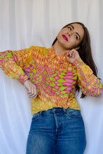 Load image into Gallery viewer, 80s-90s Groovy Neon Shirt / S-M