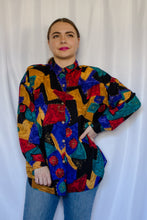 Load image into Gallery viewer, Vintage 80s-90s Multicolor Shirt / S-M