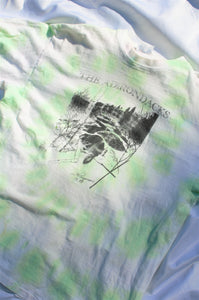 Vintage '89 Green Tie Dye Graphic Tee / S-L