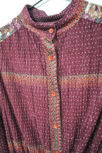 Load image into Gallery viewer, 70s Purple Shirt Dress / S-M