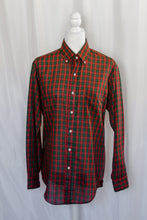 Load image into Gallery viewer, Vintage Red and Green Plaid Shirt / S-M