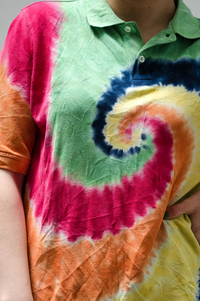 Vintage Lands End Hand Tie Dyed / S-L