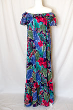 Load image into Gallery viewer, Vintage 90s Hawaiian Print Dress / M-XL