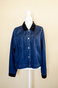 90s Oversized Denim Jacket / S-L