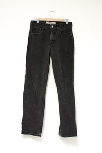 Vintage Levis Black Wash Jeans / L-XL