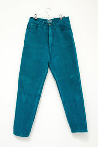 80s Teal Jeans by Guess / M
