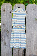 Load image into Gallery viewer, Vintage 50s Handmade Striped Dress / S