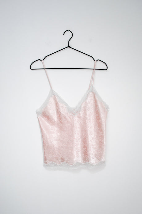 Vintage 60s-70s Blush Pink Cami / S
