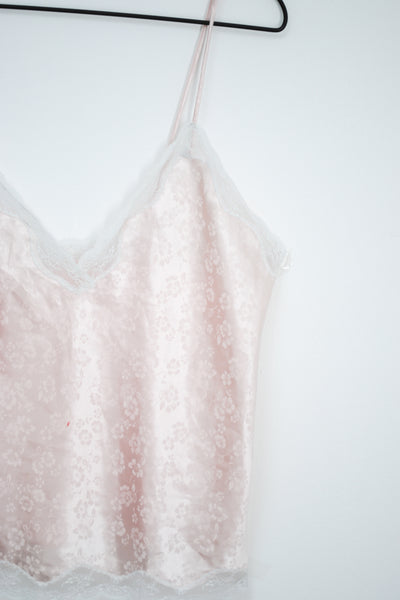 60s-70s Blush Pink Cami / S