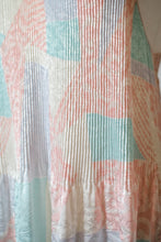 Load image into Gallery viewer, Vintage 80s Pastel Slip Dress / M-L