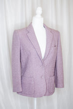 Load image into Gallery viewer, Vintage 80s Lilac Blazer / S