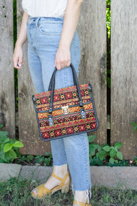 Vintage 70s Tapestry Bag by Spilene