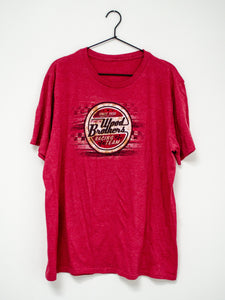 Vintage Red Wood Brothers Tee / S-L