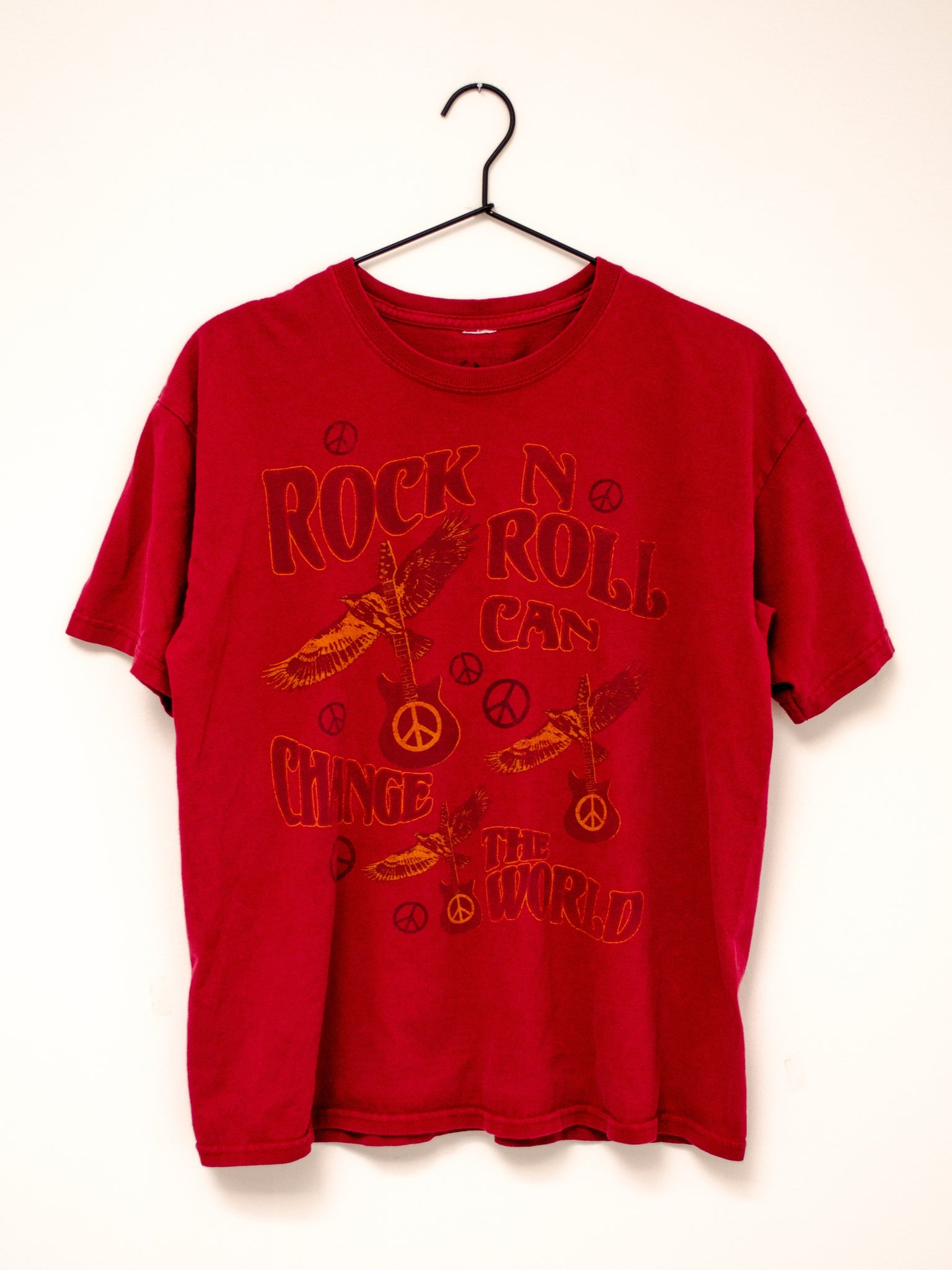 Vintage Red Rock & Roll Tee / S-L