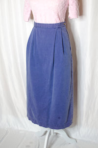 90s Purple Long Skirt / S-M