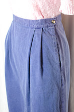 Load image into Gallery viewer, Vintage 90s Purple Long Skirt / S-M