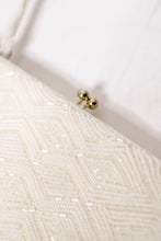 Load image into Gallery viewer, 60s White Beaded Evening Clutch