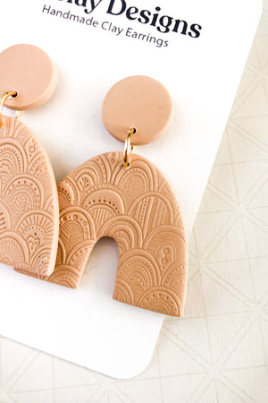 The Aurora Earrings by OKClay Designs