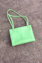 Load image into Gallery viewer, Vintage Pistachio Green Top Handle Bag