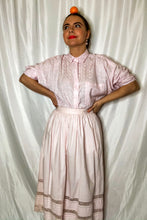 Load image into Gallery viewer, Vintage 80s Pink Midi Skirt / M