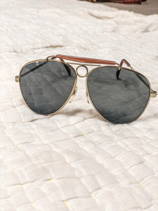 80s Aviator Sunglasses