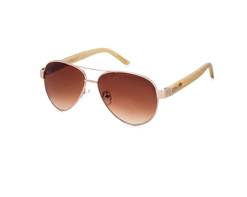 Lakefront Sunglasses in Rosegold