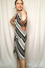 Load image into Gallery viewer, Vintage 60s-70s Black & White Dress / XS-M