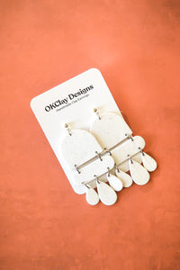 The Boathouse Earrings by OKClay Designs