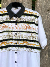 Load image into Gallery viewer, 80s-90s White Safari Shirt by Tapestry / S-L