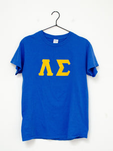 Vintage Cobalt Blue Graphic Tee / S