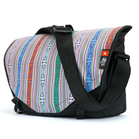 Vietnam 12 Acaat Messenger Bag, Messenger Bags, Socially responsible laptop and travel bags by ETHNOTEK